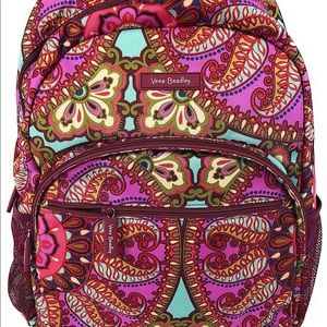 Resort medallion Vera Bradley campus backpack